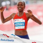 Díky Kosgeiové se ženy přiblížily na maratonu mužům